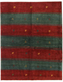 Gabbeh Persia Rug 152X195 Authentic  Modern Handknotted Dark Green/Crimson Red (Wool, Persia/Iran)