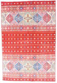 Kazak Rug 121X180 Authentic  Oriental Handknotted Light Pink/Crimson Red (Wool, Afghanistan)