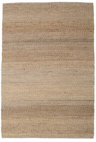 Siri Jute - Natural/Light Rug 250X350 Authentic Modern Handwoven Light Brown/Light Grey Large ( India)