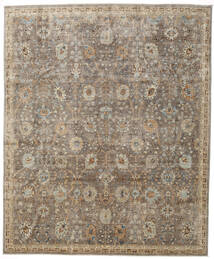 Mirage Rug 244X295 Authentic  Modern Handknotted Light Grey/Light Brown (Wool, Afghanistan)