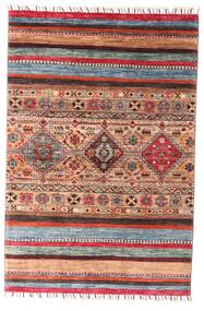 Shabargan Rug 99X147 Authentic  Modern Handknotted Dark Red/Rust Red (Wool, Afghanistan)