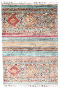 Shabargan Rug 103X149 Authentic  Modern Handknotted Beige/Light Grey (Wool, Afghanistan)