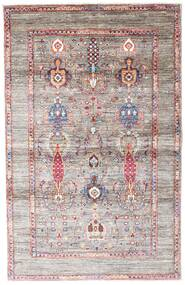 Mirage Rug 103X160 Authentic  Modern Handknotted Light Grey/Light Pink (Wool, Afghanistan)