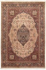 Tree Of Life Rug 195X290 Authentic  Oriental Handwoven Dark Brown/Brown (Wool, Pakistan)