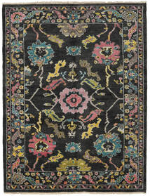 Ziegler Modern Rug 172X224 Authentic  Modern Handknotted Black/Dark Grey (Wool, Pakistan)