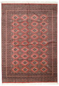 Pakistan Bokhara 2Ply Rug 205X287 Authentic  Oriental Handknotted Dark Red/Rust Red (Wool, Pakistan)