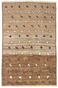 Moroccan Berber - Afghanistan Rug 93X141 Authentic  Modern Handknotted Brown/Light Brown (Wool, Afghanistan)