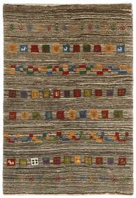 Gabbeh Persia Rug 118X178 Authentic  Modern Handknotted Light Grey/Dark Brown (Wool, Persia/Iran)