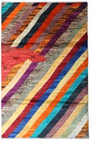 Moroccan Berber - Afghanistan Rug 118X184 Authentic  Modern Handknotted Dark Red/Dark Purple (Wool, Afghanistan)