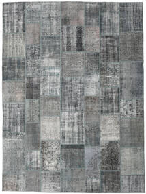 Patchwork - Turkiet Rug 298X402 Authentic  Modern Handknotted Light Grey/Dark Grey Large (Wool, Turkey)