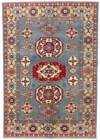 Kazak Rug 141X207 Authentic  Oriental Handknotted Dark Brown/Dark Beige (Wool, Afghanistan)