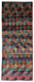 Moroccan Berber - Afghanistan Rug 74X188 Authentic  Modern Handknotted Hallway Runner  Dark Blue/Black (Wool, Afghanistan)