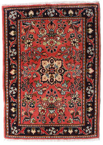 Asadabad Rug 61X85 Authentic  Oriental Handknotted Dark Red/Rust Red (Wool, Persia/Iran)