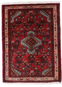 Asadabad Rug 60X83 Authentic  Oriental Handknotted Dark Red/Dark Brown (Wool, Persia/Iran)