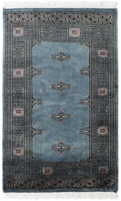 Pakistan Bokhara 2Ply Rug 77X124 Authentic  Oriental Handknotted Dark Grey/Blue (Wool, Pakistan)