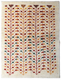 Gabbeh Persia Rug 151X198 Authentic  Modern Handknotted Beige/Light Grey (Wool, Persia/Iran)