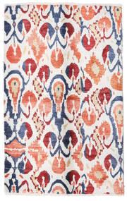 Sari Pure Silk Rug 108X170 Authentic  Modern Handknotted Beige/White/Creme (Silk, India)