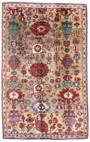 Sari Pure Silk Rug 171X271 Authentic  Modern Handknotted Dark Red/Beige (Silk, India)