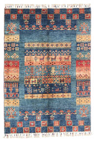 Modern Afghan Rug 87X124 Authentic  Modern Handknotted Dark Blue/Blue (Wool, Afghanistan)