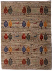 Loribaft Persia Rug 107X146 Authentic  Modern Handknotted Brown/Dark Brown (Wool, Persia/Iran)