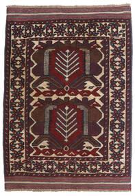 Kilim Golbarjasta Rug 100X130 Authentic  Oriental Handwoven Dark Red/Dark Brown (Wool, Afghanistan)