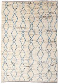 Moroccan Berber - Afghanistan Rug 165X233 Authentic  Modern Handknotted Beige/Light Grey (Wool, Afghanistan)