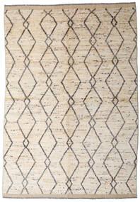 Moroccan Berber - Afghanistan Rug 168X236 Authentic  Modern Handknotted Beige/Light Grey (Wool, Afghanistan)