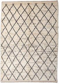 Moroccan Berber - Afghanistan Rug 172X232 Authentic  Modern Handknotted Light Grey/Beige (Wool, Afghanistan)