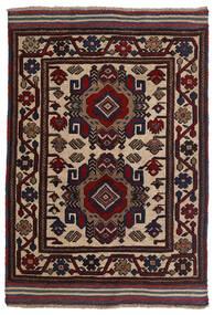 Kilim Golbarjasta Rug 90X130 Authentic  Oriental Handwoven Dark Red/Brown (Wool, Afghanistan)