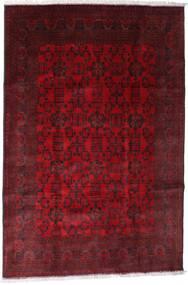 Afghan Khal Mohammadi Rug 192X288 Authentic  Oriental Handknotted Dark Red/Dark Brown/Crimson Red (Wool, Afghanistan)