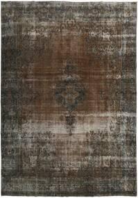 Vintage Heritage Rug 272X390 Authentic  Modern Handknotted Dark Grey/Dark Brown Large (Wool, Persia/Iran)