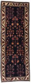 Gabbeh Kashkooli Rug 82X223 Authentic Modern Handknotted Hallway Runner Dark Brown/Dark Red (Wool, Persia/Iran)