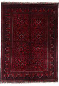 Kunduz Rug 147X198 Authentic  Oriental Handknotted Dark Red (Wool, Afghanistan)