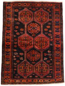 Lori Rug 147X197 Authentic  Oriental Handknotted Dark Red/Rust Red (Wool, Persia/Iran)