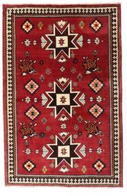 Qashqai Rug 127X197 Authentic  Oriental Handknotted Dark Red (Wool, Persia/Iran)