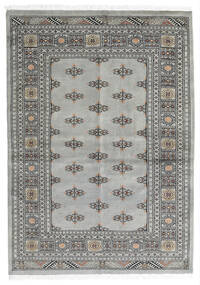 Pakistan Bokhara 2Ply Rug 139X196 Authentic  Oriental Handknotted Light Grey/Dark Grey (Wool, Pakistan)