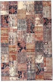 Patchwork - Persien/Iran Rug 195X298 Authentic  Modern Handknotted Dark Red/Beige (Wool, Persia/Iran)