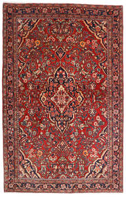 Sarouk Sherkat Farsh Rug 132X208 Authentic  Oriental Handknotted Dark Red/Dark Brown (Wool, Persia/Iran)