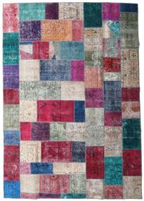 Patchwork - Persien/Iran Rug 249X354 Authentic  Modern Handknotted Purple/Dark Grey (Wool, Persia/Iran)