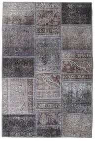 Patchwork - Persien/Iran Rug 104X155 Authentic  Modern Handknotted Dark Grey/Light Grey (Wool, Persia/Iran)