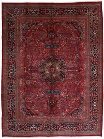 Mashad Rug 306X408 Authentic  Oriental Handknotted Dark Red/Dark Brown Large (Wool, Persia/Iran)
