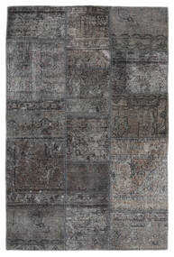 Patchwork - Persien/Iran Rug 105X159 Authentic  Modern Handknotted Dark Grey/Black (Wool, Persia/Iran)