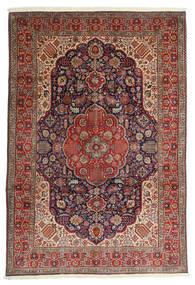 Tabriz Rug 200X297 Authentic  Oriental Handknotted Dark Red/Dark Brown (Wool, Persia/Iran)