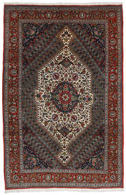 Bakhtiari Rug 204X314 Authentic  Oriental Handknotted Dark Red/Dark Grey/Dark Brown (Wool, Persia/Iran)