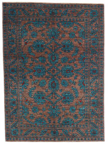 Mirage Rug 145X200 Authentic  Modern Handknotted Dark Blue/Light Brown (Wool, Afghanistan)