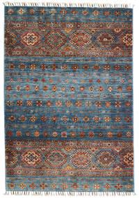 Shabargan Rug 103X152 Authentic  Modern Handknotted Light Grey/Dark Grey (Wool, Afghanistan)