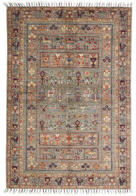 Shabargan Rug 102X151 Authentic  Modern Handknotted Light Grey/Light Brown (Wool, Afghanistan)