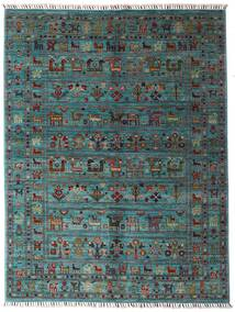 Sharbargan Rug 152X200 Authentic  Modern Handknotted Blue/Dark Grey (Wool, Afghanistan)