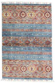 Shabargan Rug 99X151 Authentic  Modern Handknotted Light Blue/Light Grey (Wool, Afghanistan)