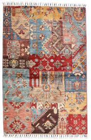 Sharbargan Rug 98X151 Authentic  Modern Handknotted Dark Brown/Dark Red (Wool, Afghanistan)